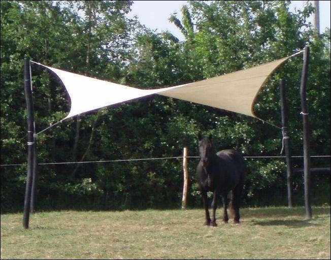 Shelter - læskærm til heste og andre dyr
