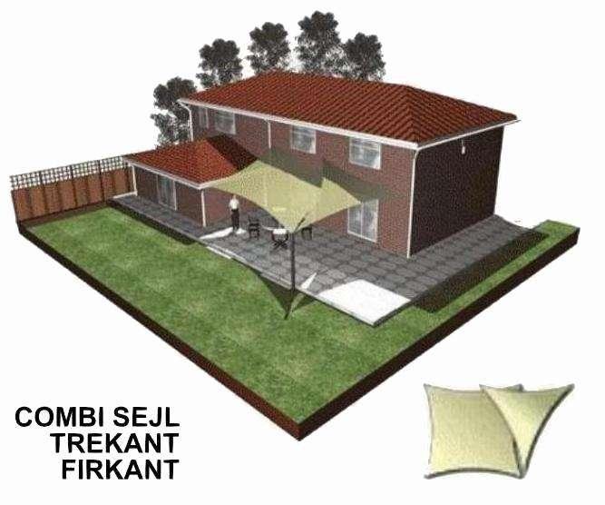 Solsejl 3D forslag A